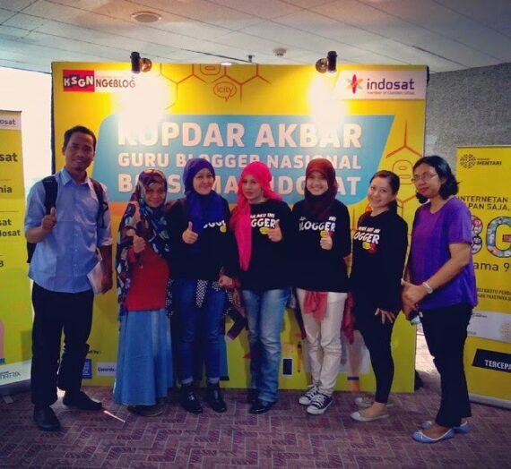Serunya Kopdar Akbar Guru Blogger Nasional Bersama Indosat