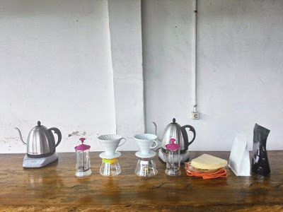 Belajar Meracik Kopi Di Yellow Truck Coffee & Tea Co