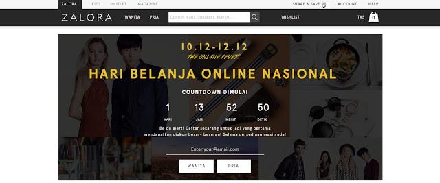 Hari Belanja Online Nasional, Zalora Siap Gencarkan Diskon 90% All Item