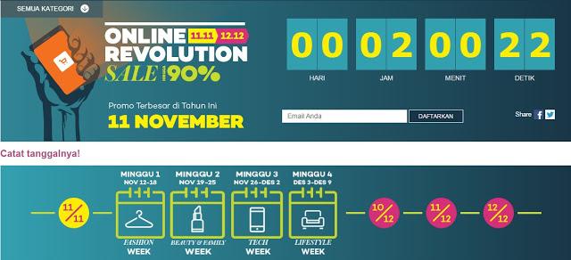Semarakkan Hari Belanja Online Nasional, Lazada Menggelar Program Online Revolution