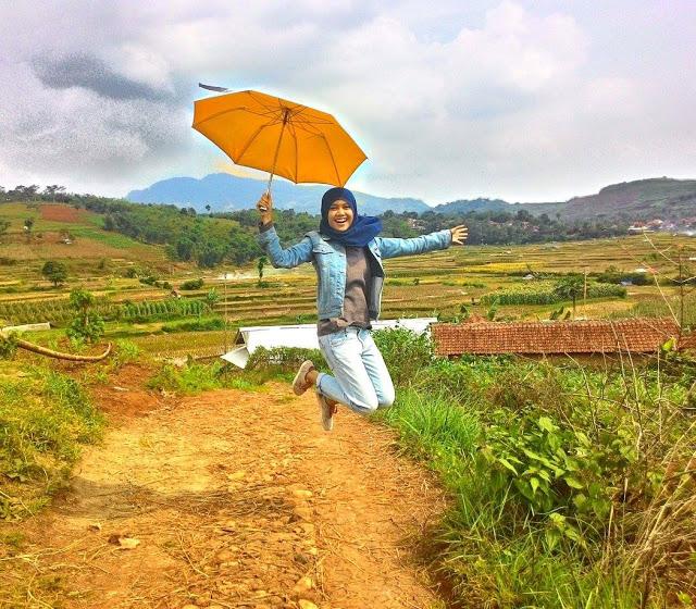 Kisah Photo Session Bersama Payung di Kabupaten Sumedang