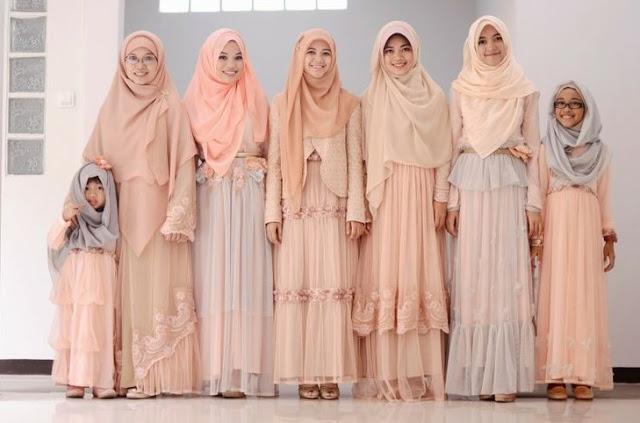 Pakaian Dress Hijab Banyak Pilihan Model
