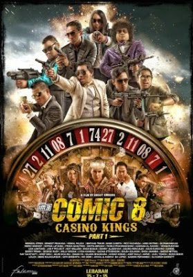 Ketika Para Komika Harus Menjadi Agen Rahasia di Film Comic 8 : Casino Kings Part 1