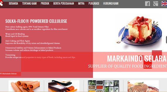 Markaindo, Supplier Bahan Baku Industri Makanan yang Halal Terpercaya