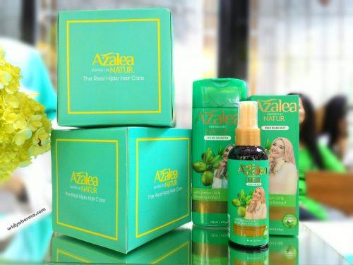 Review & Pengalaman Pertama Menggunakan Azalea Shampoo & Hair Hijab Mist