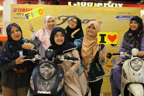 Yamaha Ajak Wanita Indonesia Tampil Mempesona Saat Berkendara