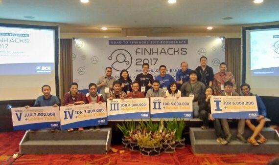 Mini Finhacks Bandung 2017, Ajang Pemanasan Sebelum Gelaran Puncak Finhacks 2017