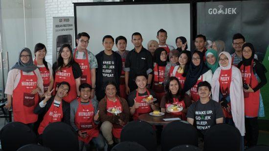 Seru, Satu Kata Untuk Menggambarkan Acara Go Foodies Meet Up Bandung