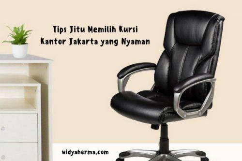 Tips Jitu Memilih Kursi Kantor Jakarta yang Nyaman