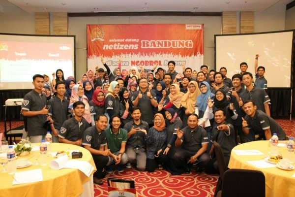 Serunya Gathering Netizen MPR dan Blogger BDG di Hotel Aston Tropicana Bandung