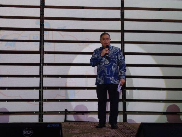 Presiden Direktur JNE di acara Launching Friendly Logistics