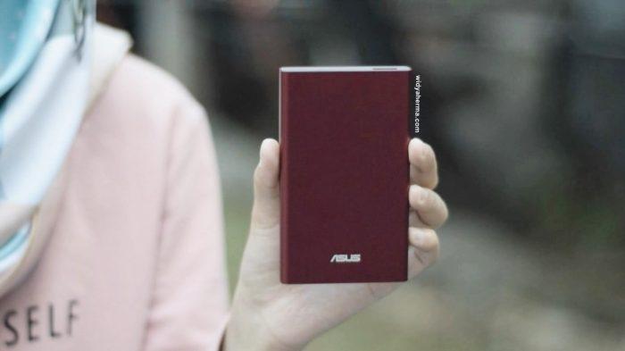 Review Si Cantik Power Bank Asus Zenpower Slim 6000 mAh, Ga Rewel Ternyata!
