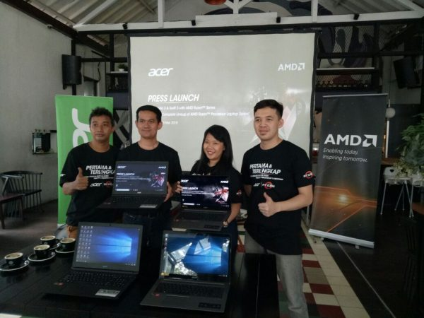 Acer Aspire 3 & Swift 3 AMD Ryzen Series, Laptop Untuk Main Game