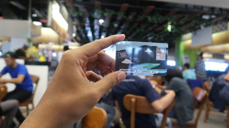 Kartu E-Money Pasar Pinuh