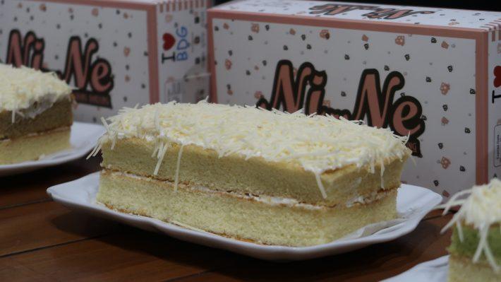Nikmatnya Ni.Ne Cheese Cake Bandung Dengan 3 Varian Rasa