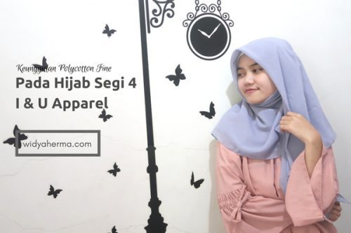 Keunggulan Bahan Polycotton Fine Pada Hijab Segi Empat