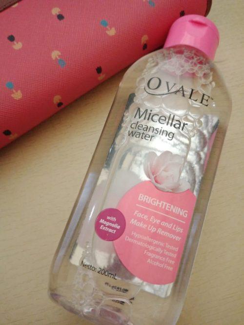 micellar water ovale