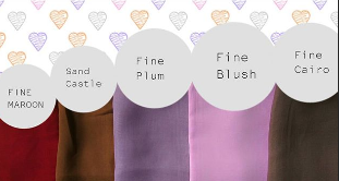 varian warna hijab pastel