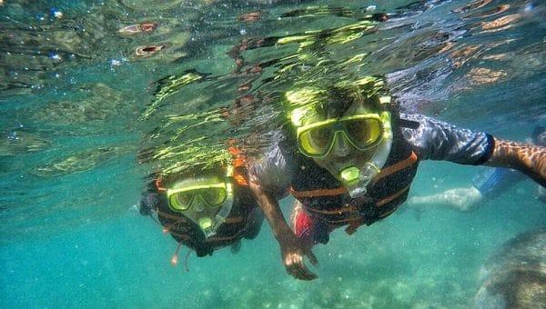 biaya snorkeling di pantai nglambor