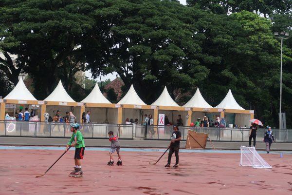 sepatu roda smart festival