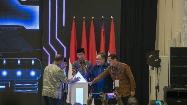 Peresmian Peluncuran Masterplan Ekonomi Syariah Indonesia (MEKSI) 2019-2024