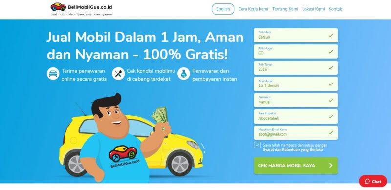 Jual Mobil Bekas Online, Bisa Semudah Ini di BeliMobilGue.co.id