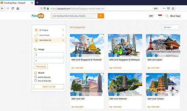 Worldwide SIM Card Website