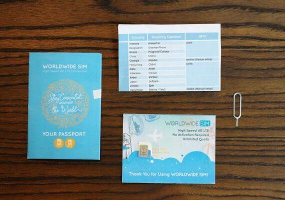 Mau ke Luar Negeri? Pake Sim Card Internasional dari Passpod Aja!