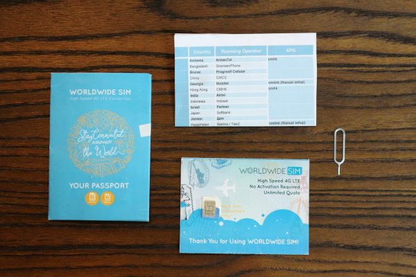 Mau ke Luar Negeri? Pake Worldwide SIM Card dari Passpod Aja, Bisa Dipake di 80 Negara