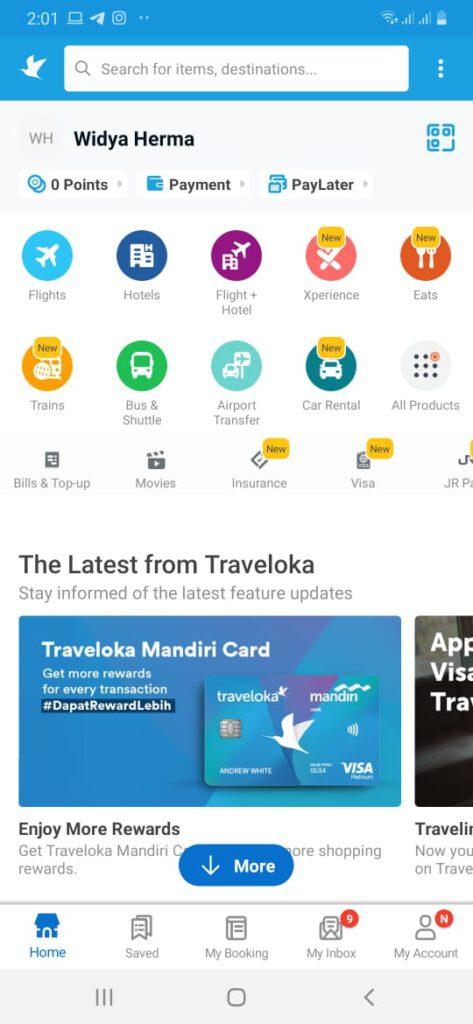 Aplikasi Traveloka Eats