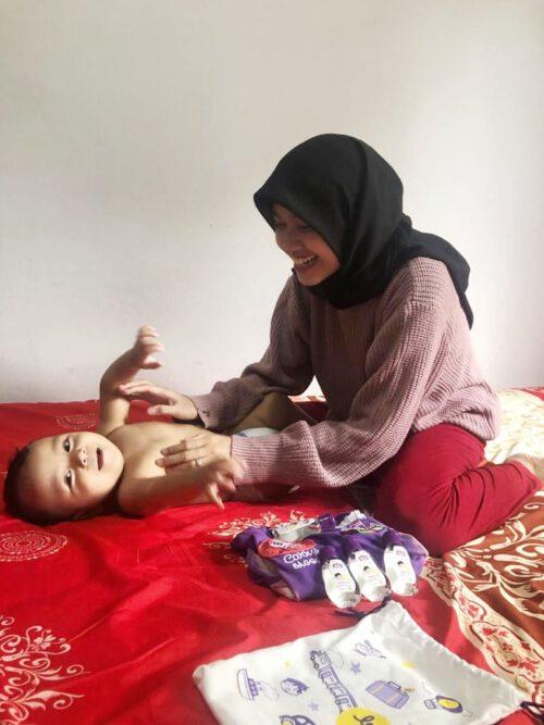 mengatasi perut kembung pada bayi