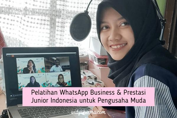 Pelatihan WhatsApp Business & Prestasi Junior Indonesia untuk Pengusaha Muda