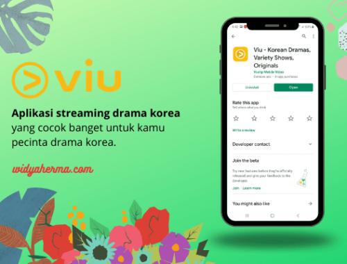 aplikasi streaming drakor