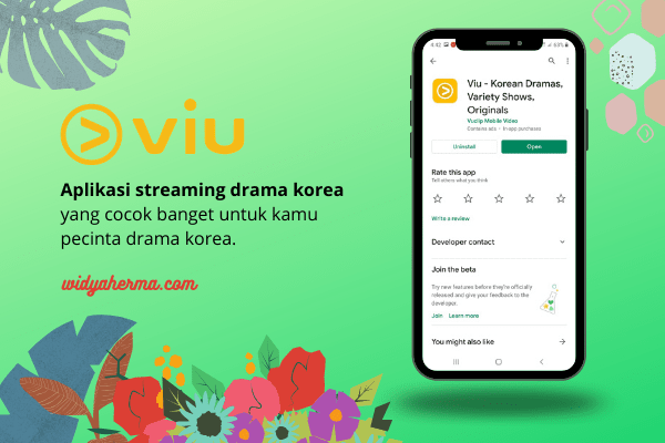 aplikasi streaming drakor