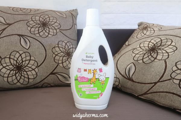 Kemasan deterjen bayi anti alergi