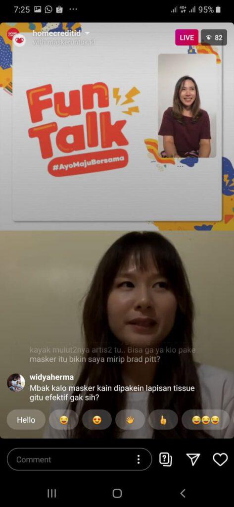 live masker untuk indonesia dan homecredit