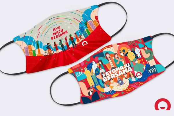 Masker untuk Indonesia dan Homecredit