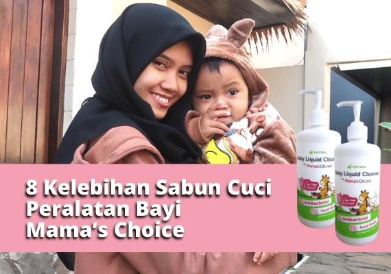 Bikin Happy, Inilah 8 Kelebihan Sabun Cuci Botol Bayi Mama's Choice