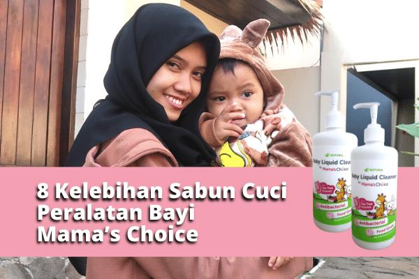 Sabun Cuci Peralatan Bayi Mama's Choice