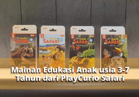 Mainan Edukasi Anak usia 3-7 Tahun dari PlayCurio Safari