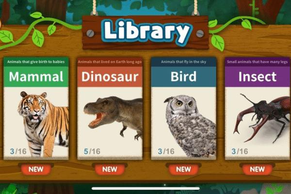 kartu AR mainan edukasi anak