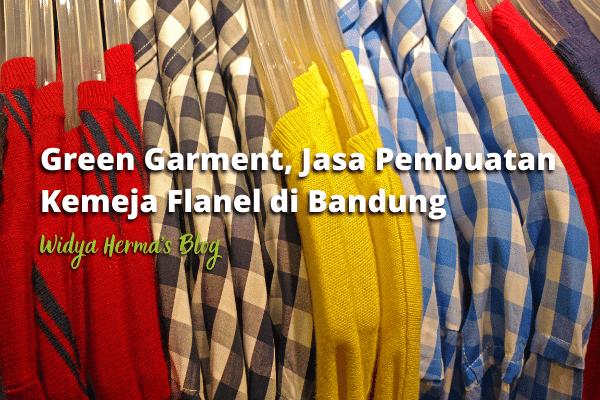 Green Garment, Jasa Pembuatan Kemeja Flanel di Bandung