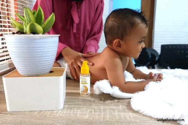 mengatasi kolik bayi