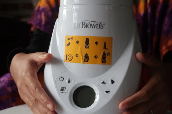 cara menggunakan dr brown warmer