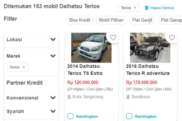 kredit mobil daihatsu terios