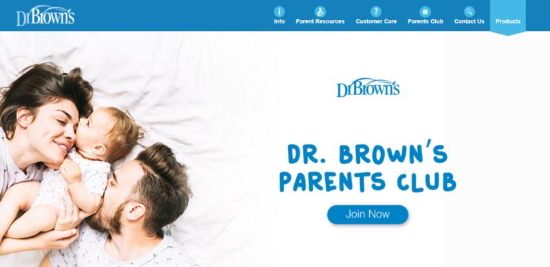 laman web dr brown's parents club