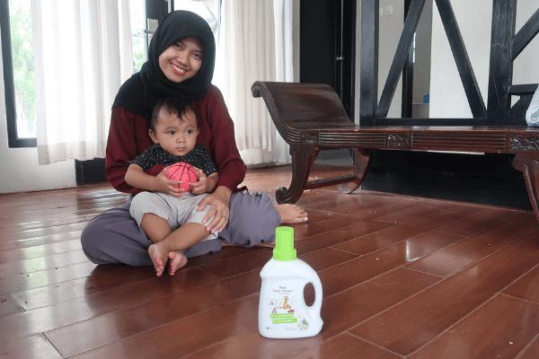 pembersih lantai bayi tahan lama