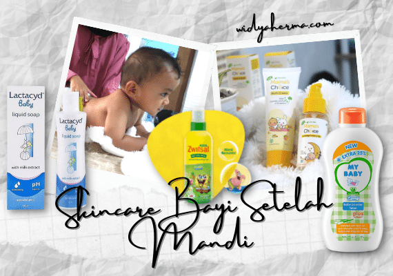 Rangkaian Skincare untuk Bayi Setelah Mandi