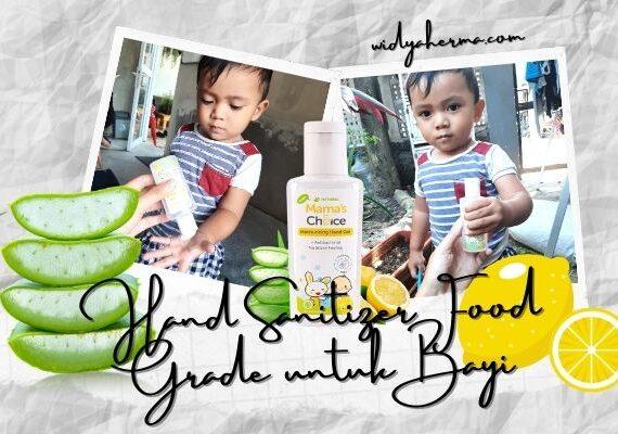 Hand Sanitizer Food Grade untuk Bayi yang Suka Memasukkan Tangan ke Mulut