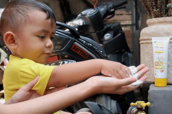 lotion anti nyamuk bayi bpom halal